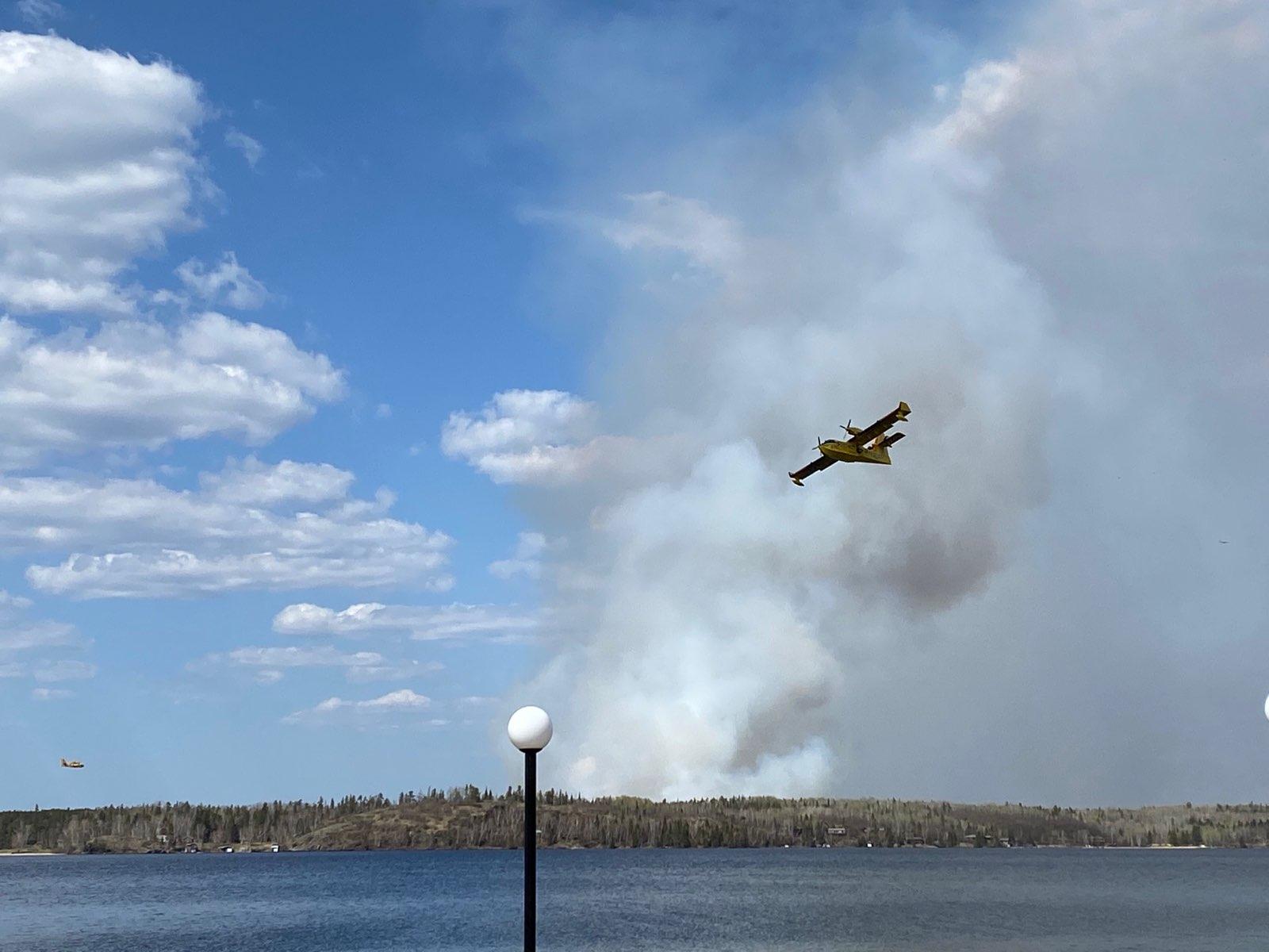 Falcon Lake Fire WCA FB page 1
