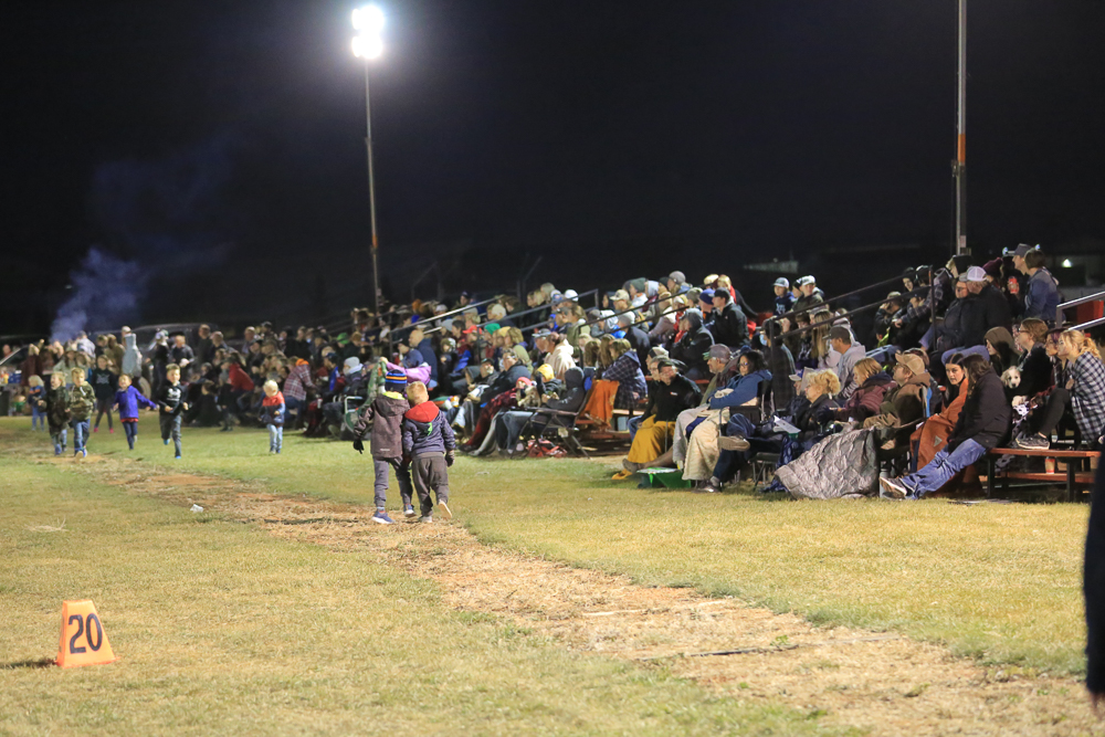Under the lights 2021 was well attended.